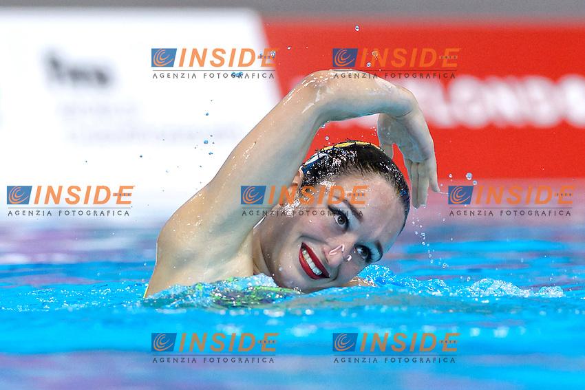 BAKIRCI Dafne TUR Turkey <br /> Solo Free<br /> London, Queen Elizabeth II Olympic Park Pool <br /> LEN 2016 European Aquatics Elite Championships <br /> Synchronized Swimming  <br /> Day 01 09-05-2016<br /> Photo Andrea Staccioli/Deepbluemedia/Insidefoto