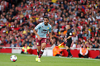 Neil Taylor of Aston Villa in action during the Premier League match between Arsenal and Aston Villa at the Emirates Stadium, London, England on 22 September 2019. Photo by Carlton Myrie / PRiME Media Images.
