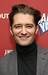 Matthew Morrison attends the cast party for the Roundabout Theatre Company presents a One-Night Benefit Concert Reading of 'Damn Yankees' at the Stephen Sondheim Theatre on December 11, 2017 in New York City.