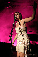 Arianne Moffat perform at her album launch  in Montreal , Fall 2005<br /> photo : (c) by JP Proulx - Images Distribution<br /> Arianne Moffat perform at her album launch  in Montreal , Fall 2005<br /> photo : (c) by JP Proulx - Images Distribution