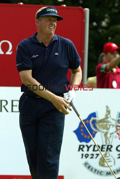 Colin Montgomerie.The Celtic Manor Resort Wales Open 2003..©Steve Pope.Sportingwales.com.07798 83 00 89