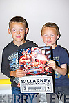 Ryan Diggin and Sean Diggin Killorglin at the American Wrestling in the Aura Sports Arena on Saturday evening