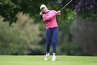 Nicola Dolaghan (Malone) during the final  of the Ulster Mixed Foursomes at Killymoon Golf Club, Belfast, Northern Ireland. 26/08/2017<br /> Picture: Fran Caffrey / Golffile<br /> <br /> All photo usage must carry mandatory copyright credit (&copy; Golffile | Fran Caffrey)