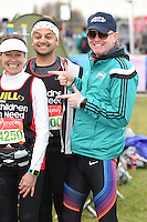Chris Evans<br /> at the start of the 2016 London Marathon, Blackheath, Greenwich London<br /> <br /> <br /> &copy;Ash Knotek  D3108 24/04/2016
