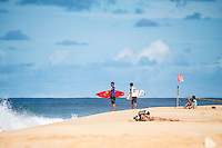 Pipeline-Backdoor, North Shore, Oahu, Hawaii. (Sunday December 11, 2016):  Ezekiel Lau (HAW) and Seth Moniz (HAW)- The Men's Pipe Invitational, the selection trials fro the Billabong Pipeline Masters was run today at Backdoor and Pipeline. Two surfers, Finn McGill (HAW) and Gavin Beschen (HAW) won there way through to the main event. 32 surfers started in the trials with four man heats running all day through to final. McGill combo the other finalists with Beschen filling second spot. The NW swell meant a lot of the surfing was at Backdoor with the occasional Pipeline wave. <br /> Photo: joliphotos