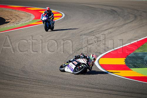 24.09.2016. Motorland Aragon, Alcaniz, Spain. MotoGP Grand Prix of Aragon. Qualifying.  Johann Zarco (FRA) Ajo Motorsport rider,
