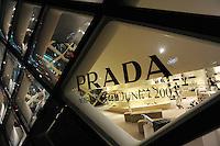 Prada store in Tokyo, Japan..