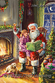 Marcello, CHRISTMAS SANTA, SNOWMAN, WEIHNACHTSMÄNNER, SCHNEEMÄNNER, PAPÁ NOEL, MUÑECOS DE NIEVE, paintings+++++,ITMCXM1337D,#X#