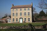 Georgian country farmhouse, High House, Bawdsey, Suffolk, England