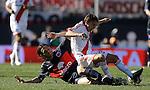 Estadio Monumental, River le gana a Tigre un gol x 0 con gol de funes, en el torneo de apertura del futbol argentino<br /> Foto; Valentina Perez
