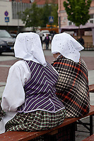 Traditional Dress at Foklore Festival in Vilnius,Lithuania