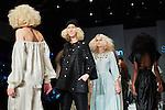 20.1.2015, Potsdam Now Fashion Week. Gezeigt werden moderne, exklusive Kollektionen führender israelischer Designerinnen und Designer. Shani Zimmerman und Zion Anava interpretieren auf sehr unterschiedliche Weise elegante Ready-To-Wear. Danach geht es weiter mit der Kollektion des ebenfalls aus Tel Aviv stammenden, seit 2014 jedoch auch in Amsterdam vertretenen Labels Frau Blau. Efrat Kalig ist berühmt für ihre eindrucksvolle Couture und bildet den Abschluss der Schauen.<br /><br />Show von Shani Zimmerman