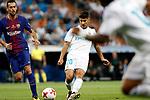 Supercopa de Espa&ntilde;a - Vuelta<br /> R. Madrid vs FC Barcelona: 2-0.<br /> Sergio Busquets vs Marco Asensio.