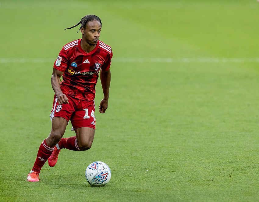 Fulham's Bobby Reid breaks <br /> <br /> Photographer Andrew Kearns/CameraSport<br /> <br /> The EFL Sky Bet Championship - West Bromwich Albion v Fulham - Tuesday July 14th 2020 - The Hawthorns - West Bromwich <br /> <br /> World Copyright © 2020 CameraSport. All rights reserved. 43 Linden Ave. Countesthorpe. Leicester. England. LE8 5PG - Tel: +44 (0) 116 277 4147 - admin@camerasport.com - www.camerasport.com