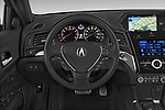 Car pictures of steering wheel view of a 2016-2017 Acura ilx Tech Plus and A Spec Package 4 Door Sedan