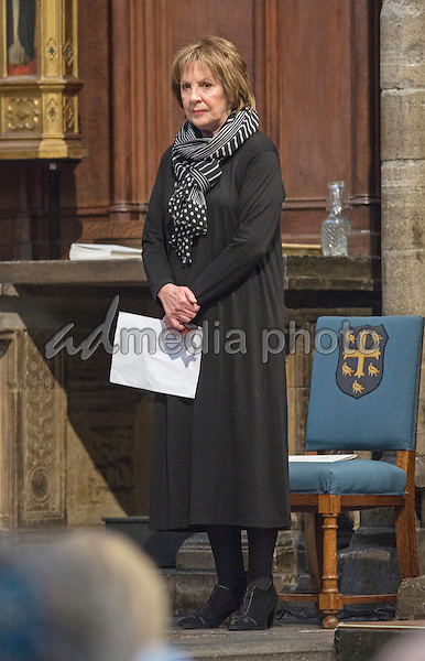 17/03/2015 Penelope Wilton during a service of Thanksgiving for the Life and Work of Lord Attenborough CBE held at Westminster Abbey in London. Photo Credit: Alpha Press/AdMedia