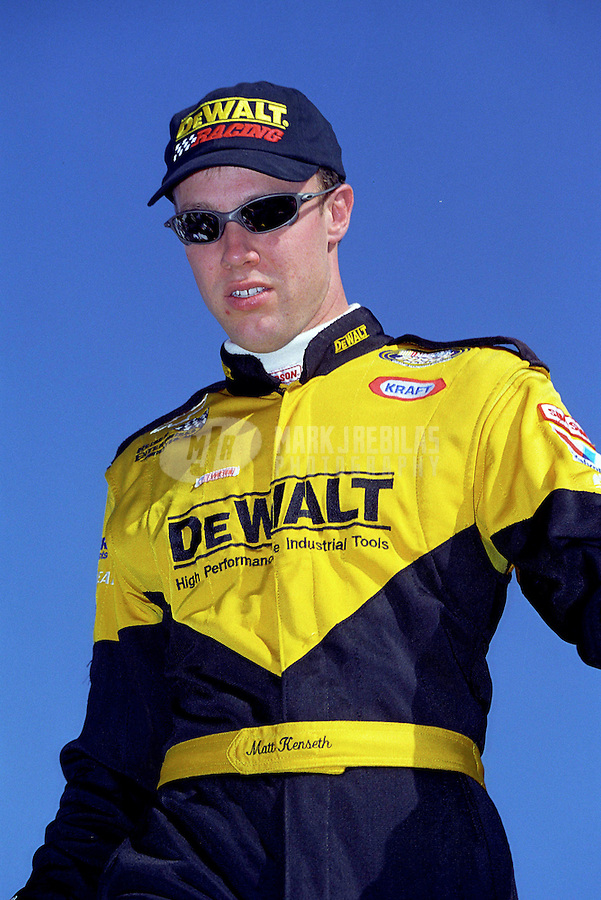Nov 8, 1998; Avondale, AZ, USA; NASCAR Busch Grand National Series driver Matt Kenseth at Phoenix International Raceway. Mandatory Credit: Mark J. Rebilas-US PRESSWIRE