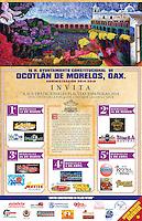 Oaxaca de Juárez, Oax.- El Gobierno del Estado de Oaxaca, a través de la Secretaría de Turismo y Desarrollo Económico (STyDE) invita a las tradicionales Placitas Españolas 2014 en Ocotlán de Morelos que se llevarán a cabo los días 12,19 y 26 de marzo y 2 y 9 de abril del presente año con el objetivo de fomentar la cultura y las tradiciones en dicha entidad.<br /> <br /> En la celebración de las Placitas Españolas se estrechan lazos de afecto para mantener vivas las tradiciones, además de que han dado vuelta al mundo ya que es el único municipio con esta tradición que echó raíces desde el siglo XVI.<br /> <br /> A partir del siguiente miércoles del Miércoles de ceniza se inician las actividades las a partir de las 10 de la mañana en el kiosco municipal, donde elige a la madrina que representa a cada institución educativa. Cada una de las participantes prepara un tema, donde expone al público presente las tradiciones y costumbres que Ocotlán de Morelos le ofrece al mundo.<br /> <br /> Por la tarde a partir de las 5 de la tarde se inicia con el viacrucis y la celebración eucarística y al término los Ocotecos y visitantes salen a disfrutar de los deliciosos tamales en todas sus variedades y el exquisito atole de sabores, en el kiosco la banda de música interpretando temas oaxaqueños.<br /> <br /> La STyDE y el H. Ayuntamiento de Ocotlán de Morelos invitan a visitantes locales, nacionales y extranjeros a disfrutar de las costumbres y tradiciones que se viven durante la preparación de la Semana Santa en Ocotlán. Patricia Castellanos/Obture Press Agency;