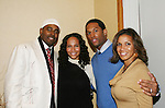 Lamman Rucker - Yvonna Wright - Lawrence Saint-Victor & Kathleen at the 2nd Annual AHEAD - Saving Lives Today - Sustaning Communities Tommorow - fundraising dinner on December 4, 2008 at the River Room, New York City, New York. MIssion of AHEAD is to work with underserved communities in developing countries to improve the quality of life by implrmenting programs that lead to seof-sufficiency and self-reliance. (Photo by Sue Coflin/Max Photos)