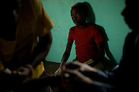 Health clinic supported by MSF in Makpandu South Sudan.