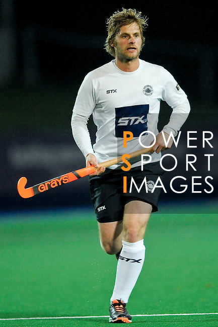 East Grinstead vs Canterbury during their England Hockey League Premier Division match at the East Grinstead Sports Club on November 15, 2014 in Sussex, United Kingdom. Photo by Ady Kerry / Power Sport Images
