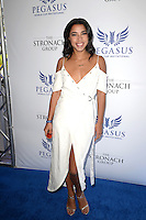 www.acepixs.com<br /> <br /> January 28 2017, Hallandale, FL<br /> <br /> Hannah Brofman arriving at the Pegasus World Cup at Gulfstream Park on January 28, 2017 in Hallandale, Florida.<br /> <br /> By Line: Solar/ACE Pictures<br /> <br /> ACE Pictures Inc<br /> Tel: 6467670430<br /> Email: info@acepixs.com<br /> www.acepixs.com