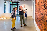 "(Photo by Don Milici, Freelance Photographer)<br /> <br /> As part of Occidental College's Homecoming & Family Weekend, photo of ""Oxy Arts Open House"" with members of the Oxy community exploring the brand-new Oxy Arts center on York Boulevard. Oxy Arts is the community-based arts hub for the College. Meldia Yesayan, director of Oxy Arts, will be available to answer questions. Friday, Oct. 18, 2019.<br /> <br /> (Photo by Don Milici, Freelance Photographer)"