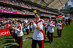 March Past and Village People event as part of the Cathay Pacific / HSBC Hong Kong Sevens at the Hong Kong Stadium on 28 March 2015 in Hong Kong, China. Photo by Xaume Olleros / Power Sport Images