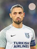 Mehmet BATDAL, IST 9  <br /> TSG 1899 HOFFENHEIM - ISTANBUL Basaksehir  3-0<br /> Gruppe C, Football UEFA Europa League, Hoffenheim, 19.10.2017<br /> EL Saison 2017/2018<br /> <br />  *** Local Caption *** © pixathlon +++ tel. +49 - (040) - 22 63 02 60 - mail: info@pixathlon.de