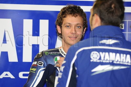 18.10.2013.Phillip Island Australia. Valentino Rossi (Yamaha Factory Racing) during the free practice sessions from Phillip Island circuit