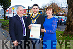 Patrick Shanahan, Agricultural Science Graduate Michael Shanahan, and Annette Shanahan at the IT Tralee graduation ceremony at the Brandon hotel, Tralee on Thursday