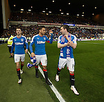Andy Halliday, Harry Forrester and Nicky Clark