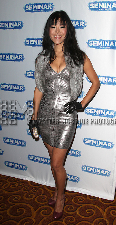 Hettienne Park.during the Broadway Opening Night After Party for 'Seminar' at Gotham Hall in New York City on 11/20/2011.