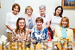 Enjoying an evening out in Bella Bia on Thursday.<br /> Seated l to r: Alice Leddy, Caroline Lynch and Cora O'Mahoney.<br /> Back l to r: Gill Lynch, Veronica Kelly, Angeline Galvin and Marie Ford.
