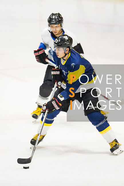 Verity Skater #11 Ryan Wong (forward) in action  during the match Gaggia Empire vs Verity, a match part of the Principal Standard League on 07 March 2017 in Mega Ice, Hong Kong, China. Photo by Marcio Rodrigo Machado / Power Sport Images