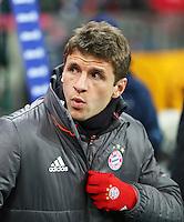 Fussball  1. Bundesliga  Saison 2016/2017  16. Spieltag  FC Bayern Muenchen - RB Leipzig        21.12.2016 Thomas Mueller (FC Bayern Muenchen)