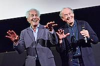 Utrecht, 22 september 2016<br /> Nederlands Film Festival 2016<br /> La fille inconu<br /> Q and A met regisseurs Luc (rechts) en Jean-Pierre Dardenne<br /> Foto Felix Kalkman/NFF