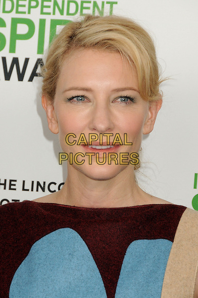 1 March 2014 - Santa Monica, California - Cate Blanchett. 2014 Film Independent Spirit Awards - Arrivals held at Santa Monica Beach. <br /> CAP/ADM/BP<br /> &copy;Byron Purvis/AdMedia/Capital Pictures
