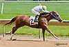 Galiana winning at Delaware Park on 6/8/13
