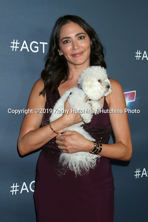 """LOS ANGELES - SEP 18:  Lauren Silverman at the """"America's Got Talent"""" Season 14 Finale Red Carpet at the Dolby Theater on September 18, 2019 in Los Angeles, CA"""