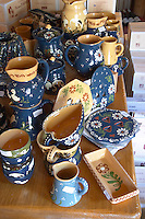 gift and souvenir shop ceramic pots dom g humbrecht pfaffenheim alsace france