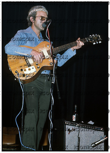 J J Cale - performing live at the  Falkoner Theater in Copenhagen Denmark - 24 Mar  1976.  Photo credit: Torben Christensen/Dalle/IconicPix  (UK ONLY)