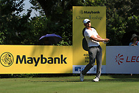 Jordan Smith (ENG) on the 8th tee during Round 1 of the Maybank Championship at the Saujana Golf and Country Club in Kuala Lumpur on Thursday 1st February 2018.<br /> Picture:  Thos Caffrey / www.golffile.ie<br /> <br /> All photo usage must carry mandatory copyright credit (© Golffile | Thos Caffrey)
