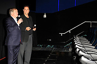 LOS ANGELES - DEC 8: Robert Laity, Dan Jamelli at TCL Chinese Theatre introduces a MX4D ® Motion EFX movie theatre, as well as the first immersive spectator theater, hosting competitive esports tournaments at the TCL Chinese Theatre on December 8, 2017 in Los Angeles, California
