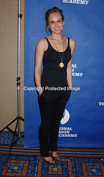 Jennifer Landon ..in the Press Room at The 33rd Annual Daytime Emmy  Creative Arts Awards on April 22, 2006 at the Marriott Marquis Hotel in New York. ..Robin Platzer, Twin Images