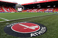 A general view of the stadium during the Sky Bet League 1 match between Charlton Athletic and Fleetwood Town at The Valley, London, England on 17 March 2018. Photo by Carlton Myrie.