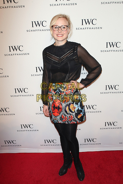 NEW YORK, NY - APRIL 15: Alison Pill at the IWC Schaffhausen third annual 'For the Love of Cinema' dinner during Tribeca Film Festival at Spring Studios on April 16, 2015 in New York City.  <br /> CAP/MPI/DIE<br /> &copy;DIE/MPI/Capital Pictures