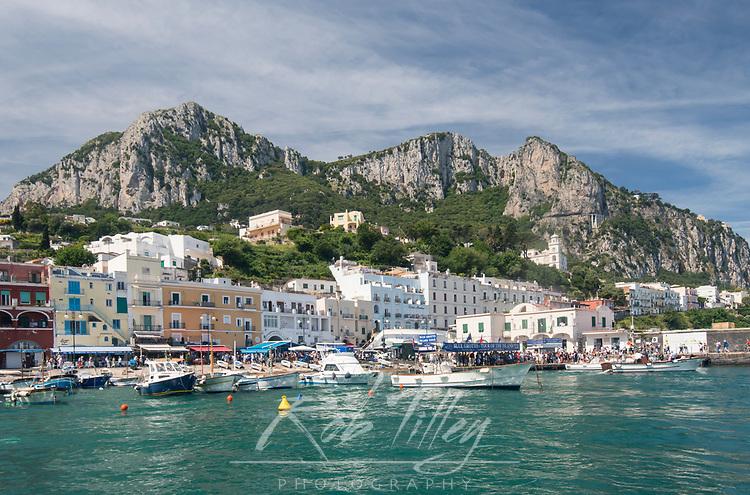 Europe, Italy, Isle of Capri, Marina Grande