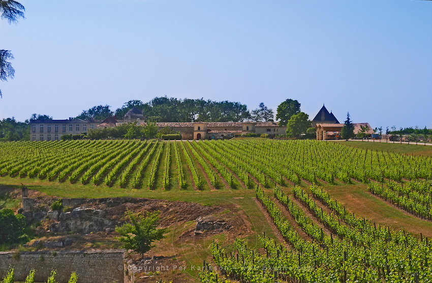 Troplong Mondot? Do you know what this chateau is?? Saint Emilion Bordeaux Gironde Aquitaine France UNK