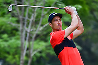 Ross Fisher (ENG) watches his tee shot on 7 during round 2 of the World Golf Championships, Mexico, Club De Golf Chapultepec, Mexico City, Mexico. 3/3/2017.<br /> Picture: Golffile | Ken Murray<br /> <br /> <br /> All photo usage must carry mandatory copyright credit (&copy; Golffile | Ken Murray)